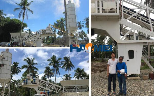 install-the-YHZS60-mobile-batching-plant-scene-in-Davao.jpg