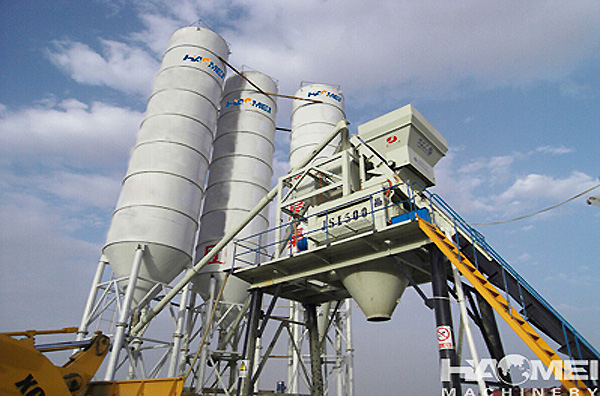 Make sure the Installation order of concrete batching plant