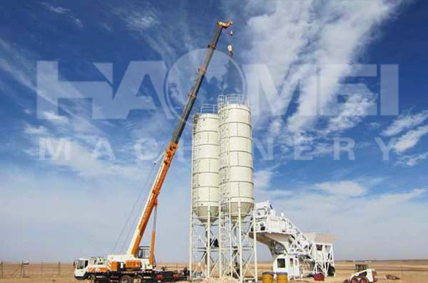 How to control concrete mixing plant cost