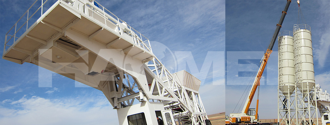 HZS35 small concrete batching plant investment costs