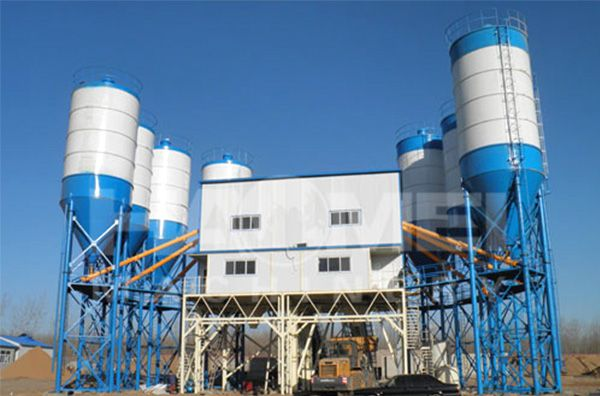 The water supply system of concrete batch plant in winter Guidebooks