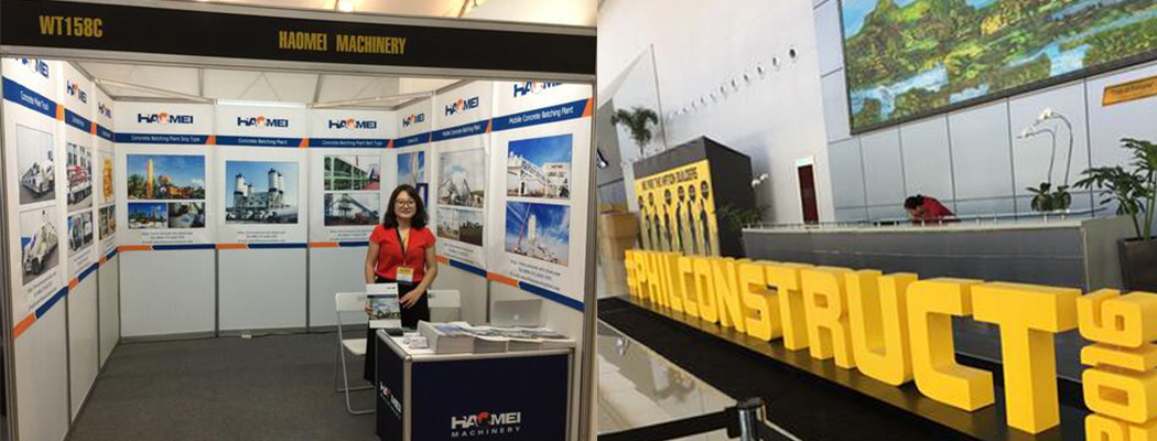 We will attend the construction equipment exhibition