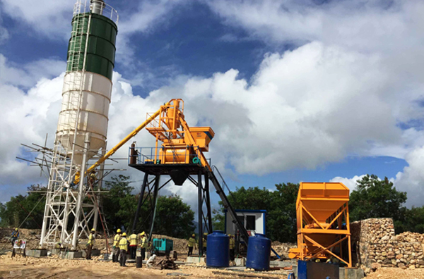 Small and medium-sized concrete batch plant have wider benefits