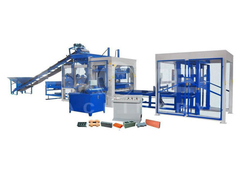 How does a block making machine work