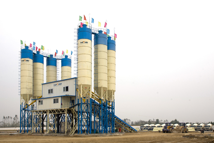 Concrete plant equipment model category is introduced